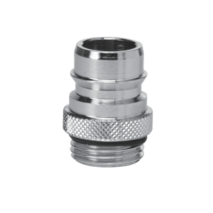 Vikan 0715 Quick Fit Hose Coupling with 1/2 inch thread for 0711/9324